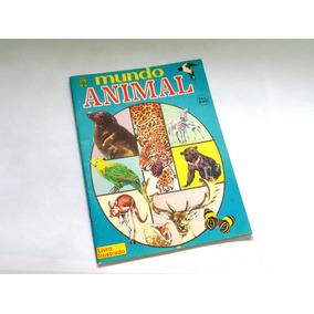 Álbum De Figurinhas Mundo Animal - Incompleto