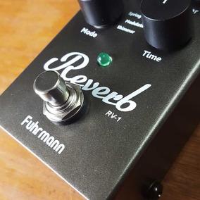 Pedal De Reverb Digital Fuhrmann Para Guitarra, Baixo, Violã