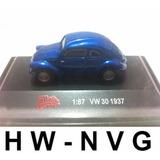 Malibu 1:87 Vw 30 1937 Volkswagen Fusca Escala Ho