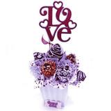 Arreglo Fresas, Cupcakes Amor Y Amistad, Aniversario Cumplea