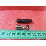 Conector Tipo F C/ Goma C/rosca Para Tv Por Cable- Satelital