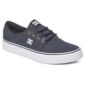 Tenis Calzado Hombre Zapato Casual Gris Trase Tx Se Dc Shoes