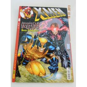 Hq Gibi Xmen Marvel Nº8 Agosto 2002 Amanhecer Violento Saga