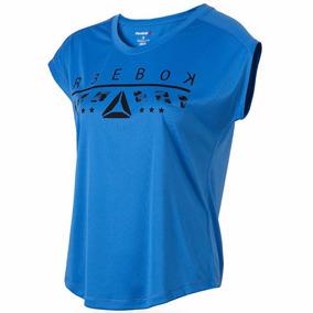 Playera Atletica Workout Ready Mujer Reebok Br2351
