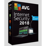 Avg Internet Security 2018 - 1 Años/3pc
