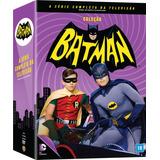 Dvd Box Batman - A Série Completa Da Televisão - 18 Discos