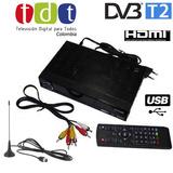 Decodificador Tdt Dvb T2 Satelital Antena Hdmi Control