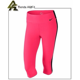 Nike Leggings Dama Original Licra Capri Deportivo Coral Neo