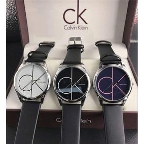 Elegante Reloj Calvin Klein Oem Metalico Hombre Watch