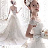 Vl06 Vestido De Noiva Princesa Importado Renda Frete Grátis