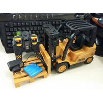 Empilhadeira Controle Remoto Truck S/fio Bateria Recaregavel