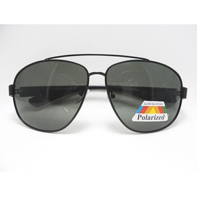 8b2849f2e0684 Óculos De Sol Masculino Aviador Preto Polarizado Barato