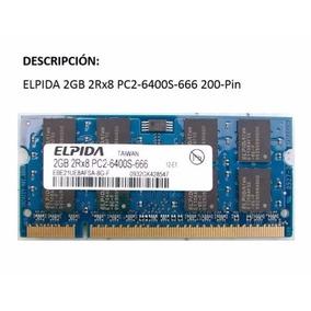 Memoria Ram Laptop 2gb Ddr2 Pc2-6400 Elpida