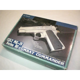 Pistola De Airsoft Colt Mk-iv Arminha De Plastico Bolinhas