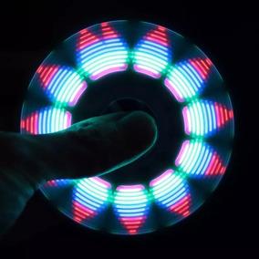 Anti Ansiedade Stress Hand Spinner Fidget Desenho 3d Led To