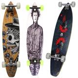 Skate Longboard 8 Rolamentos Shape 97cm Trcuk Pro Bel 465700