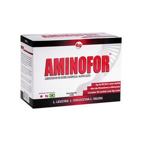 Aminofor (bcaa Powder) Cx 30 Sache X 8g