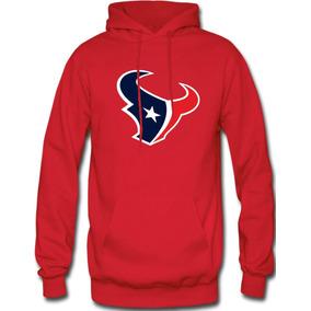 Sudadera Houston Texans Nfl Hoodie Capucha Con Cangurera