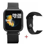 Smartwatch T80 Black + Pulseira De Brinde