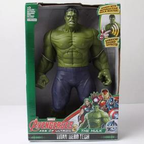 Boneco Articulável Avengers Vingadores Incrivel Huck C/ Som