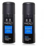 Yardley Elegance Body Spray Para Hombres Paquete De 2 De ...
