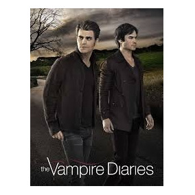 Caderno 20 M + Poster + Adesivos The Vampire Diaires 809978