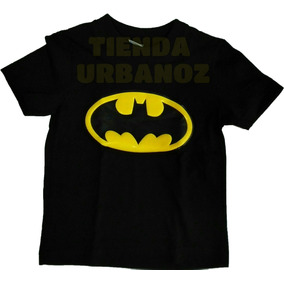 Combo 4 Camisetas Niño Superheroes Talla (2-16) Urbanoz