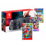 Nintendo Switch Arme Su Paquete 3 Juegos Promo*7350*dcontado