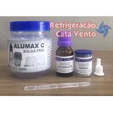 Solda Fria Para Evaporadores De Aluminio - Alumax C - 3 Unid