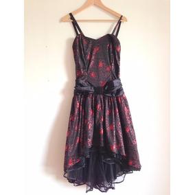 Bello Vestido Disfraz Ideal Noche De Brujas Talla L