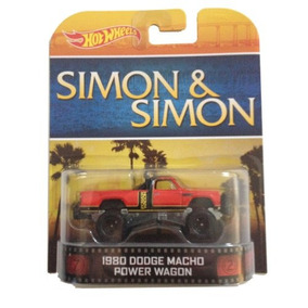 1980 Dodge Camion Macho Simon & Simon Hot Wheels 1 Retro En