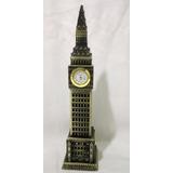 Relógio Big Ben Londres Funciona Verdade 23,5 Cm Altura