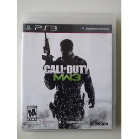 Call Of Duty Mw3 Ps3 Mídia Física Original Perfeito