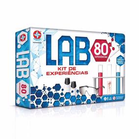 Conjunto Atividades Kit Experiências Jogo Lab 80 Estrela