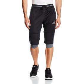Shorts Pantalonetas 3/4 Deportivos Hombres adidas