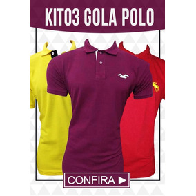0ead0be8f7 Camisa Lacoste Polo Masculino Tamanho G - Camisas no Mercado Livre ...
