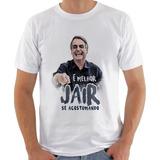 Camisa Camiseta Jair Bolsonaro Presidente Em Oferta - Promo