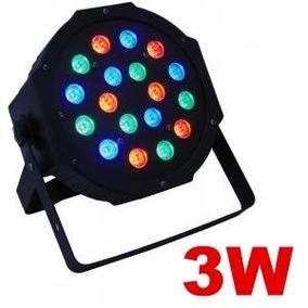 Megaluz Par008 Luminaria Par Wash 18 Leds De 3 Watts