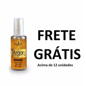 Supreme Óleo De Argan Oil 60ml Reparador Mary Life