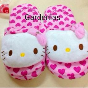 Pantuflas Hello Kitty Para Damas