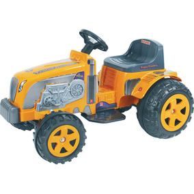 Trator Eletrico Country Amarelo Biemme 319