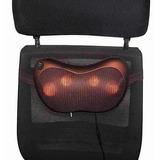 Travesseiro Massageador Eletrico Pescoco Lombar Casa Carro
