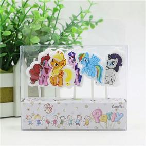 Velas Para Pastel Mi Pequeño Pony Fiesta! Envio Gratis