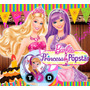 Kit Imprimible Barbie Princesa Popstar Fiesta Editable Invit