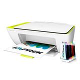 Impresora Hp 2135 Con Sistema De Tinta Continua Instalado