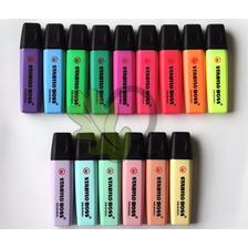 Stabilo Boss Juego De 15pzs Con 6 Colores Pastel + Envío