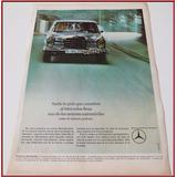 Dante42 Publicidad Antigua Retro Auto Mercedes Benz 1966
