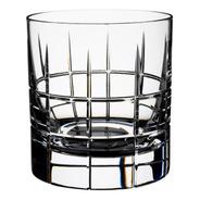 Vaso San Carlos Cristal Whisky F100 Tallado Cuadrille X250cc