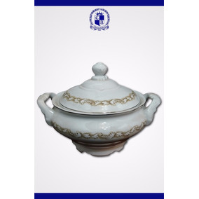 Antiga Sopeira Em Porcelana Schmidit