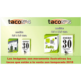 Almanaques Temporada, 2018, Tacos N°4 X 30 Unidades